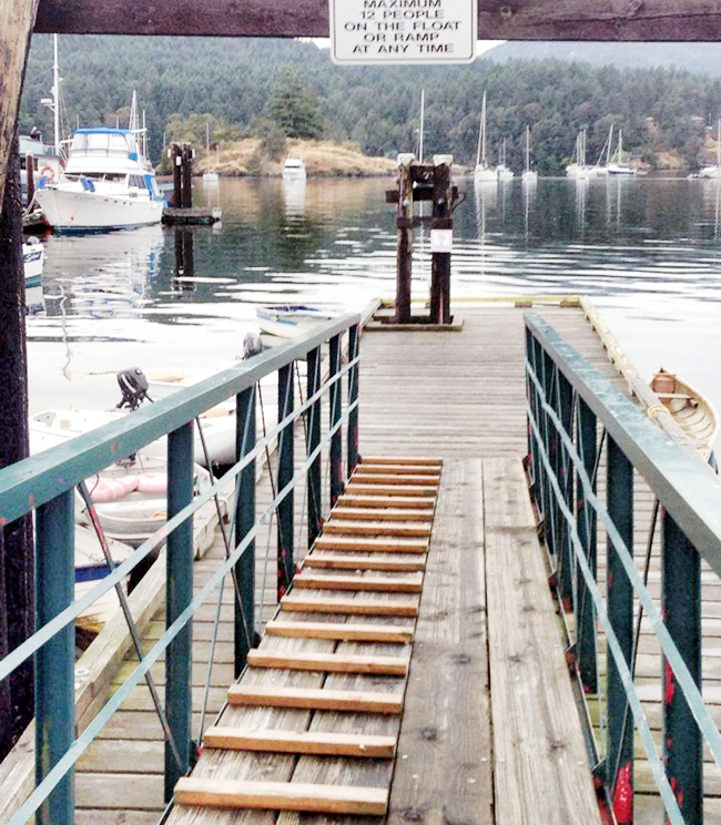 Brentwood Bay government public dock