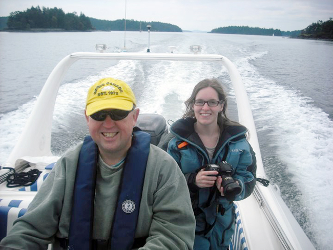 Private boat charters Vancouver Island BC