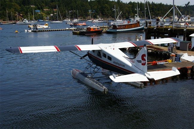 Fly to Salt Spring from Vancouver with Salt Spring Island Air floatplane