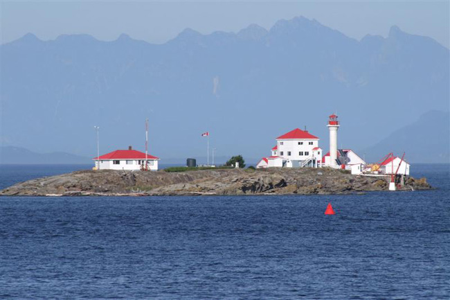 Trial Island Lighthouse BC